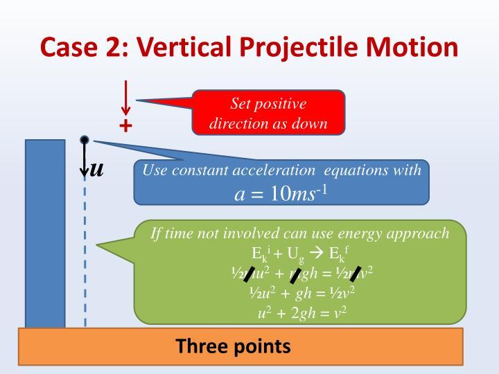 Case 2: Vertical