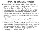 time complexity big o notation1