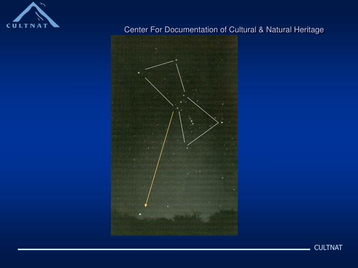 Center For Documentation of Cultural & Natural Heritage
