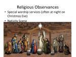 religious observances1