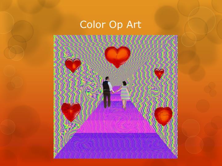 Color Op Art