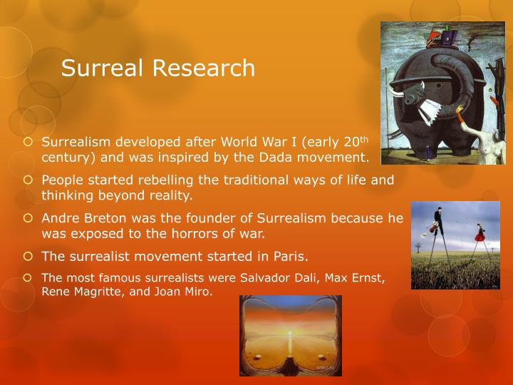 Surreal Research