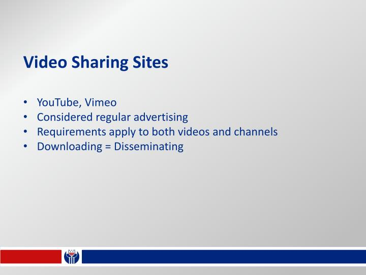 Video Sharing Sites