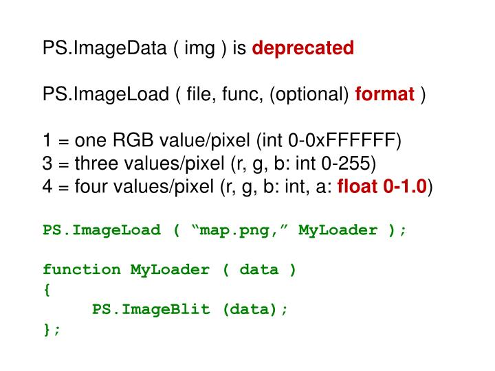 PS.ImageData ( img ) is