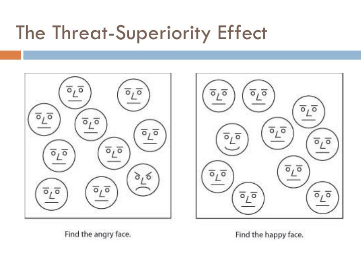 The Threat-Superiority Effect
