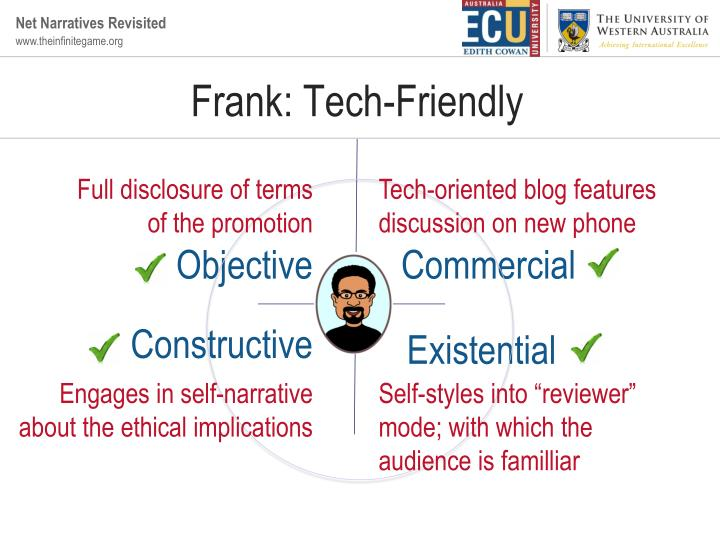 Frank: Tech-Friendly