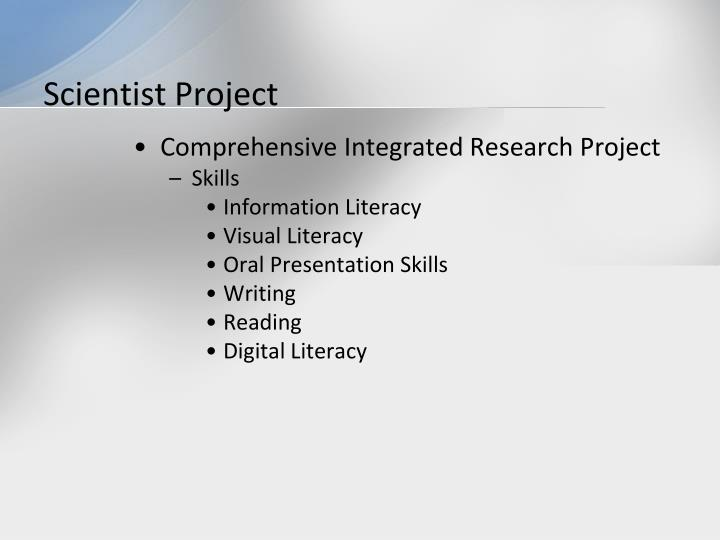 Scientist Project