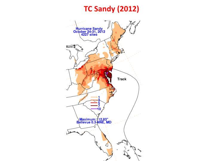 TC Sandy (2012)