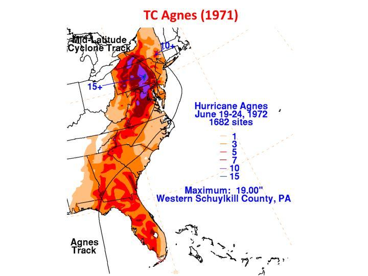 TC Agnes (1971)