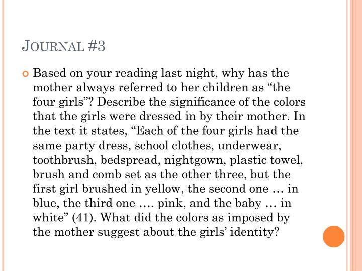 Journal #3