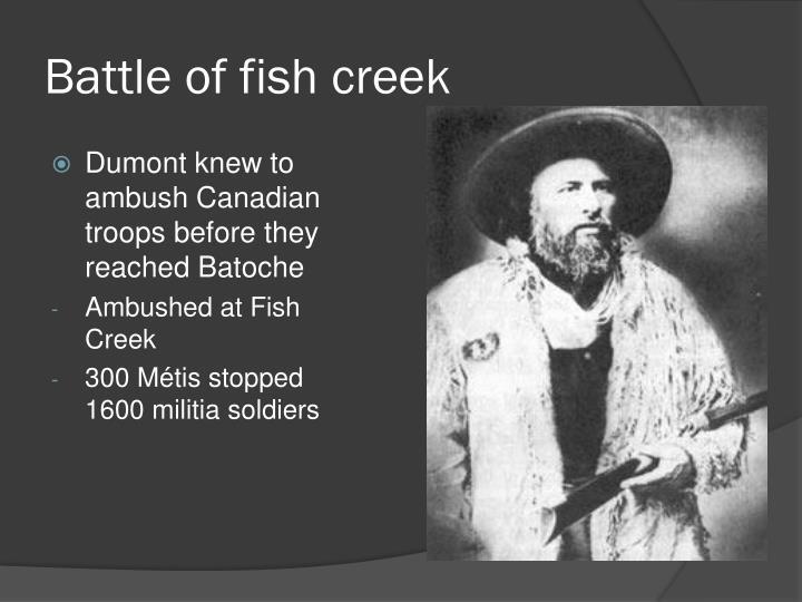 Battle of fish creek