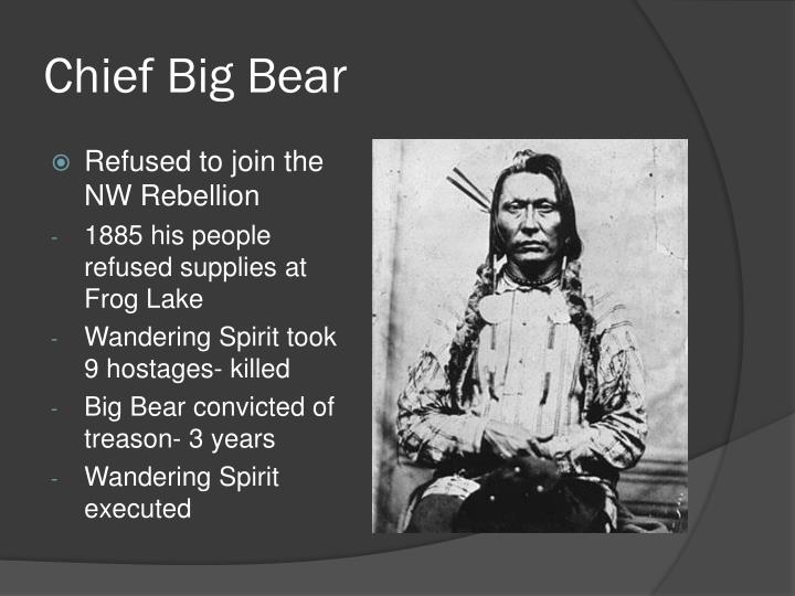 Chief Big Bear