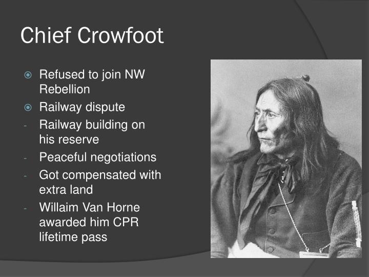 Chief Crowfoot