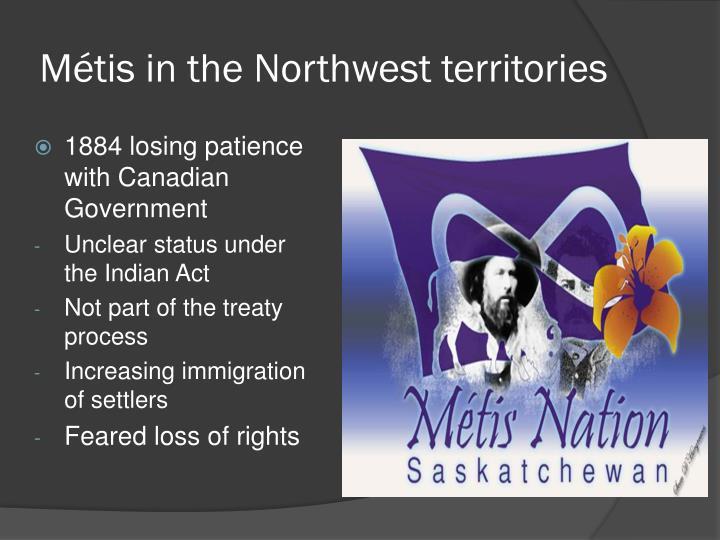 Métis in the Northwest territories