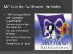 m tis in the northwest territories