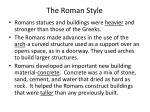 the roman style
