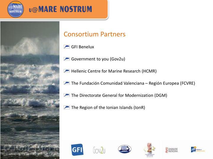 Consortium Partners