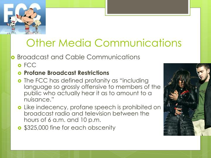 Other Media Communications
