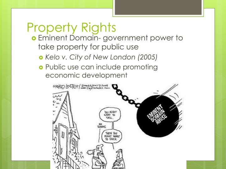 Property Rights