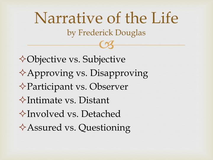 Narrative of the Life