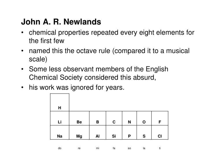 John A. R. Newlands