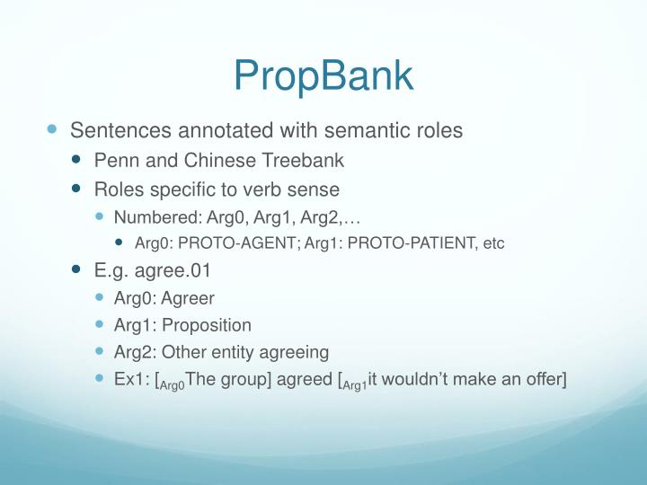 PropBank