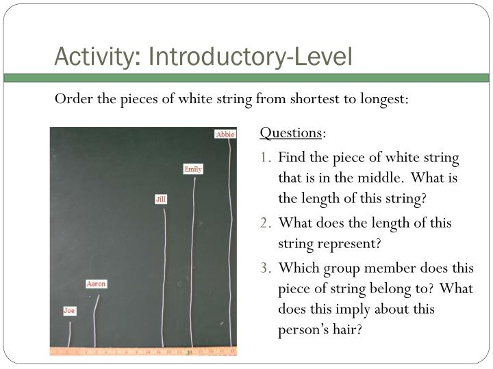 Activity: Introductory-Level