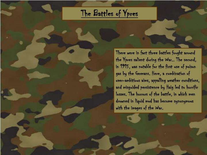 The Battles of Ypres