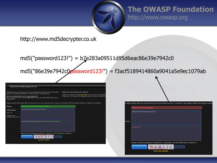 http://www.md5decrypter.co.uk