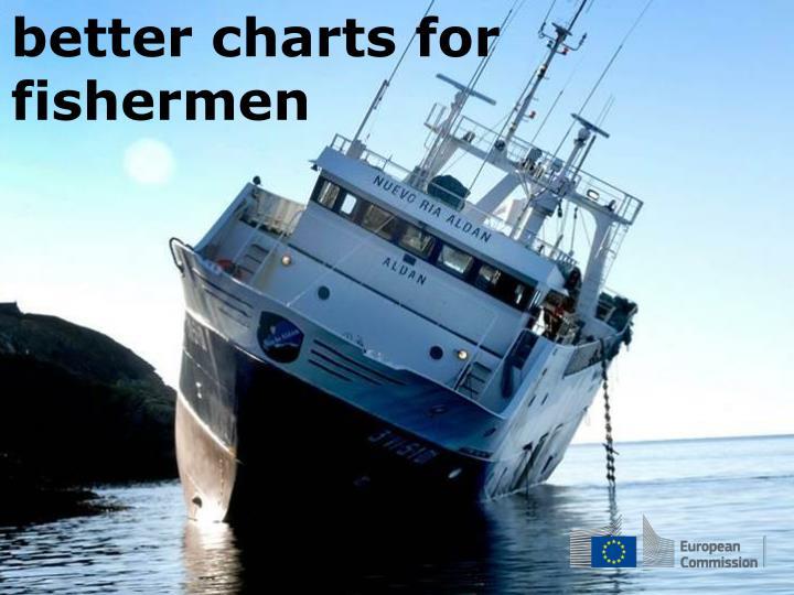 better charts for fishermen
