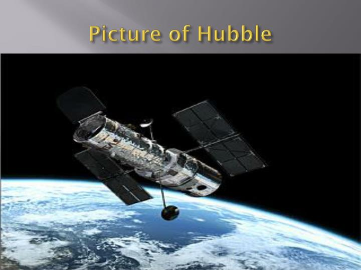 Picture of Hubble