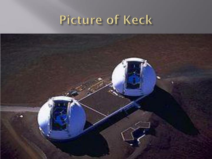 Picture of Keck