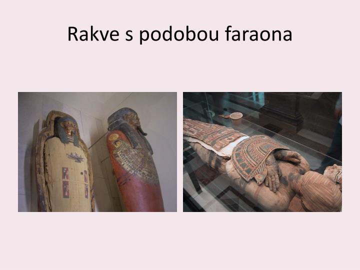 Rakve s podobou faraona