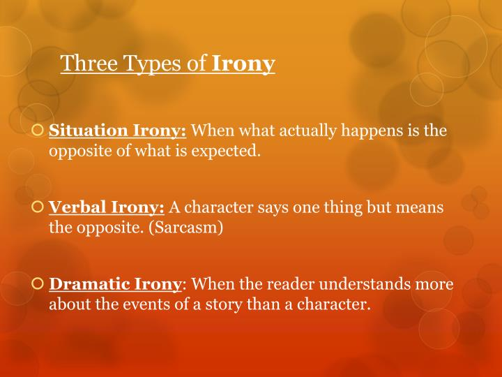 Three Types of