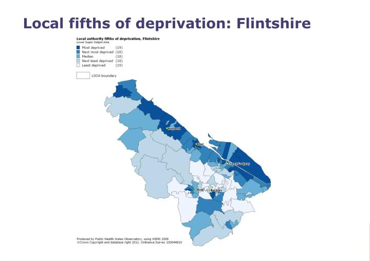 Local fifths of deprivation: Flintshire