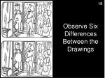 observe six differences between the drawings2