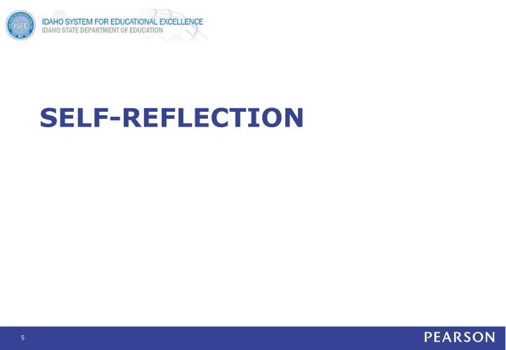 Self-reflection