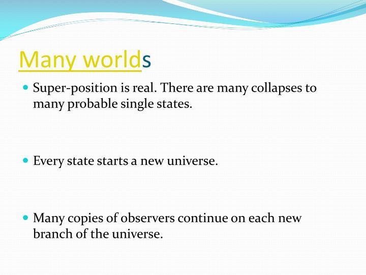 Many world