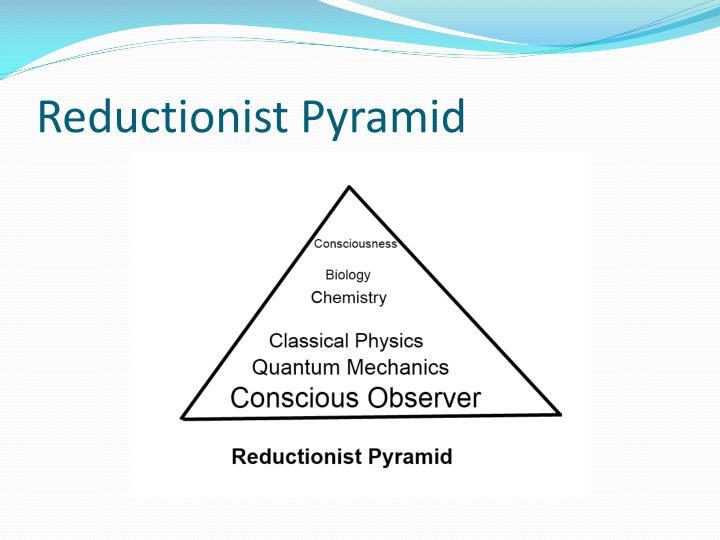 Reductionist Pyramid