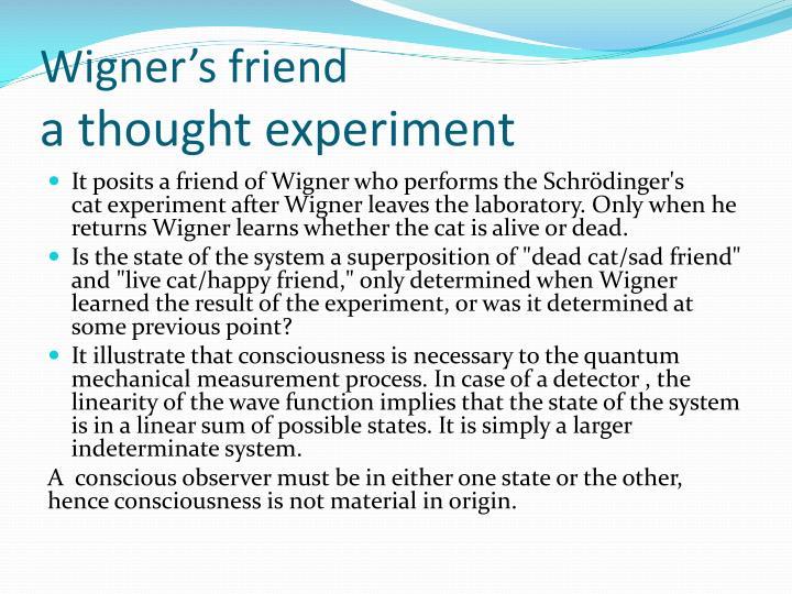 Wigner's friend