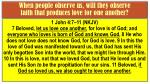 when people observe us will they observe faith that produces love for one another