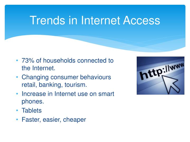 Trends in Internet Access