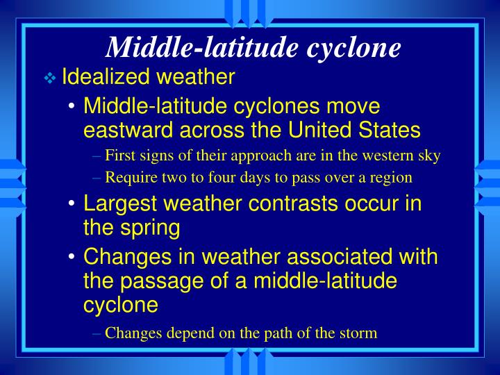 Middle-latitude cyclone