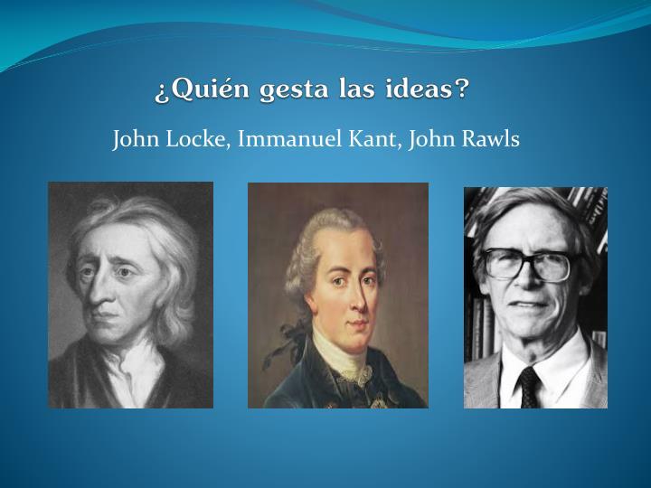¿Quién gesta las ideas?