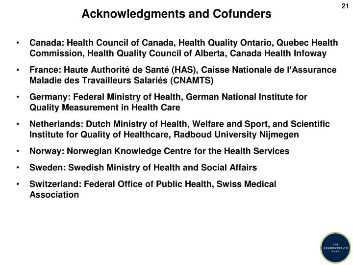 Acknowledgments and