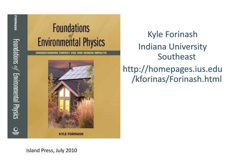 Kyle Forinash