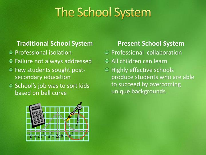The school system