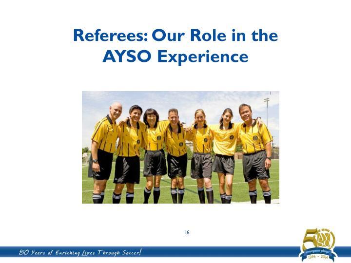 Referees: