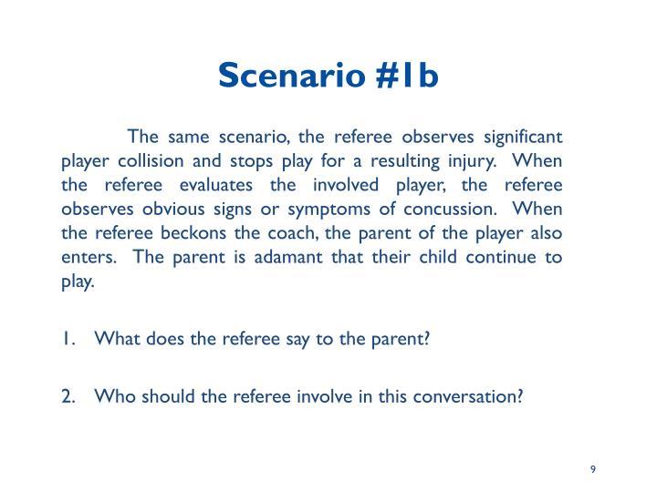 Scenario #1b