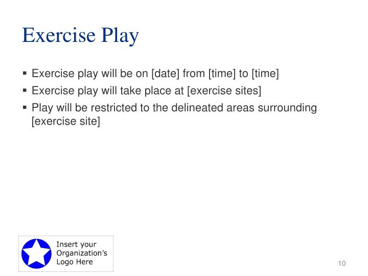 Exercise Play